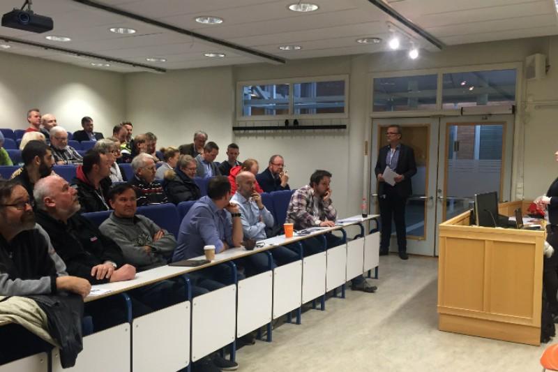 Han styrer lokallaget i Vestfold og Telemark