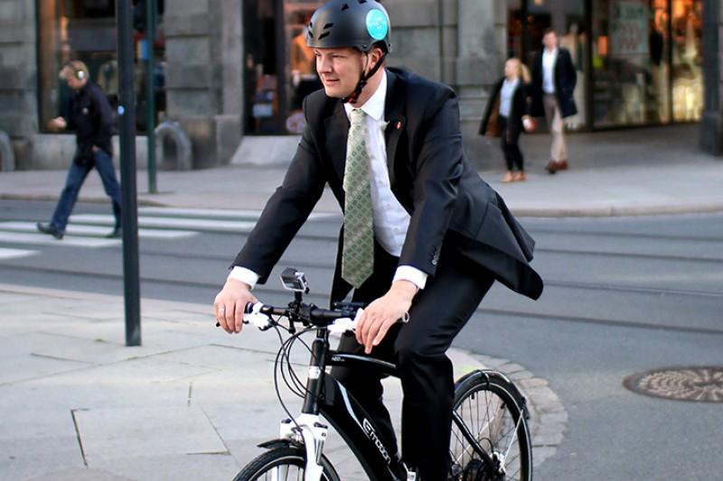 Prøv en elsykkel til jobb
