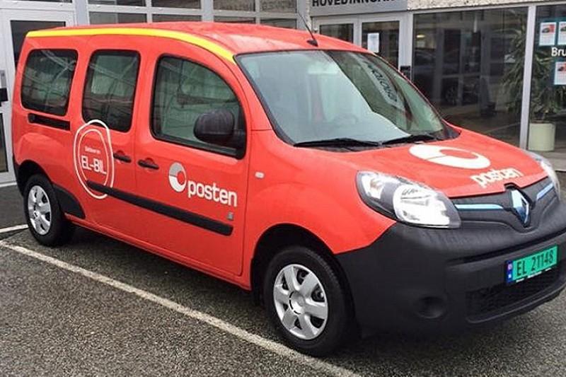 Posten Norge kjøper 300 elektriske Renault Kangoo