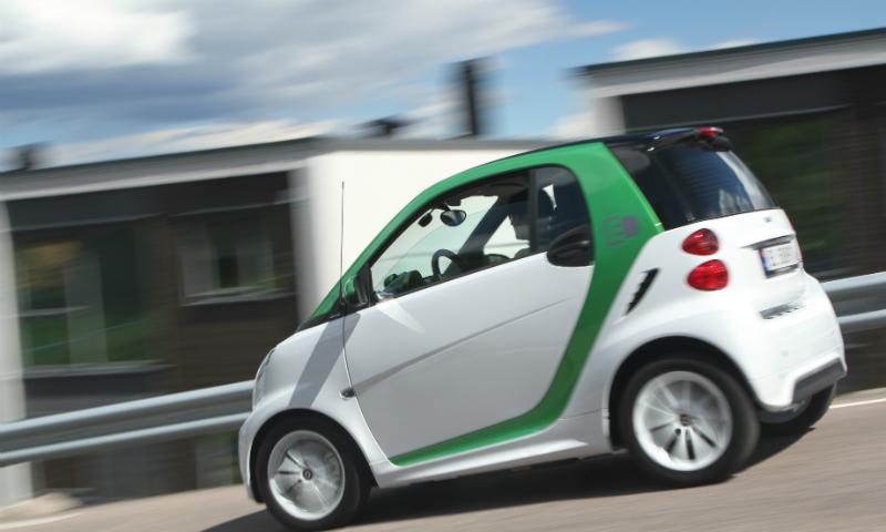Test av Smart ForTwo Electric: Liten og lett å bli glad i