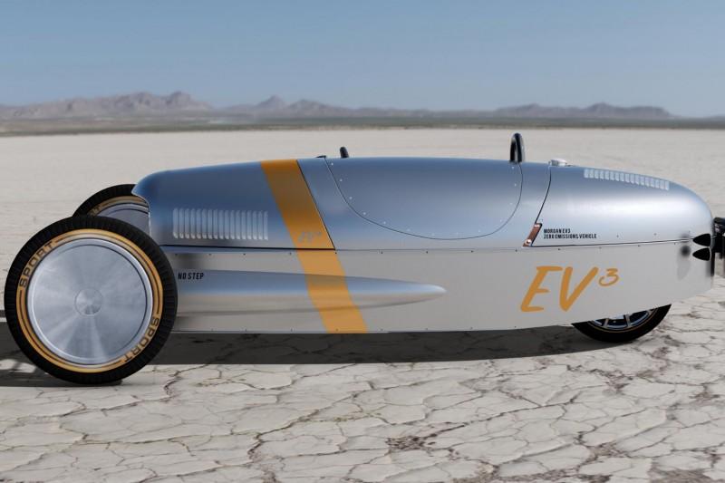 Denne trehjulingen blir elektrisk
