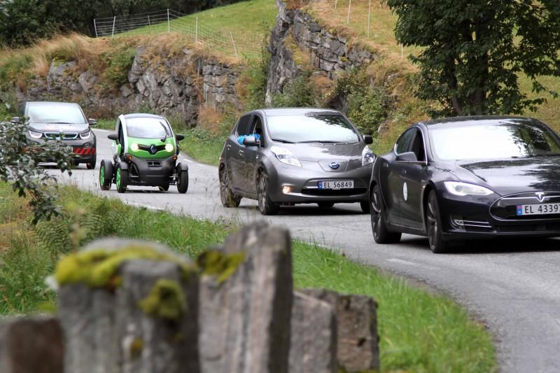 Verdens beste sted for eksosfri bilturisme
