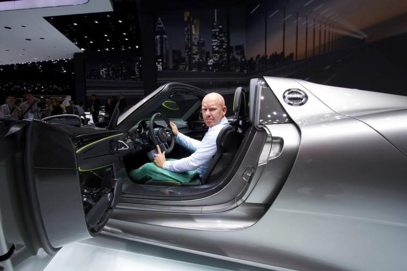 Høyspent og elektrisk fra Porsche