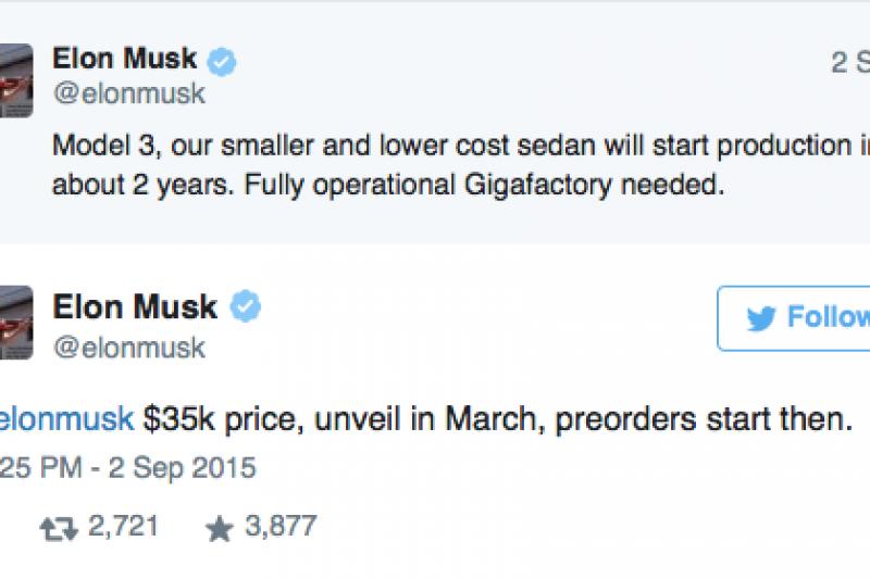 Tesla skifter fokus til Model 3