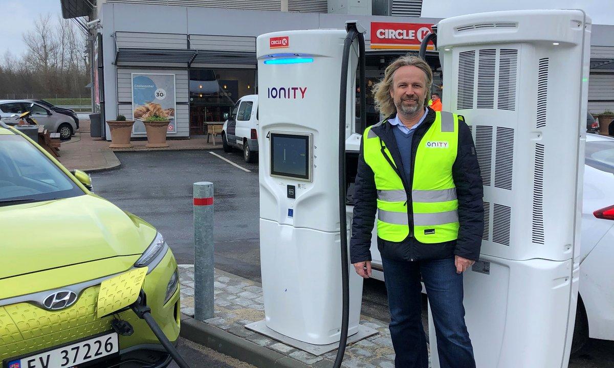 IONITY åpner første lynlader med 350 kW   Norsk elbilforening