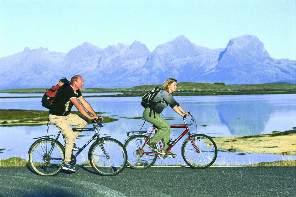 Sykkeltur på Helgeland