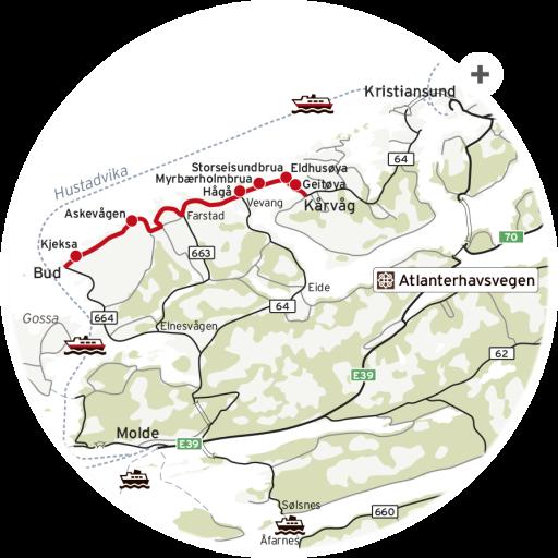 Nasjonal Turistveg_Atlanterhavsveien_kart