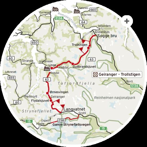 Nasjonal turistvei Geiranger Trollstigen