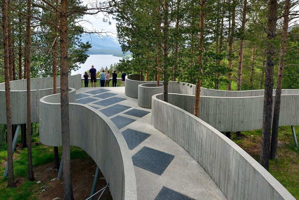Sohlbergplassen utsiktsplass