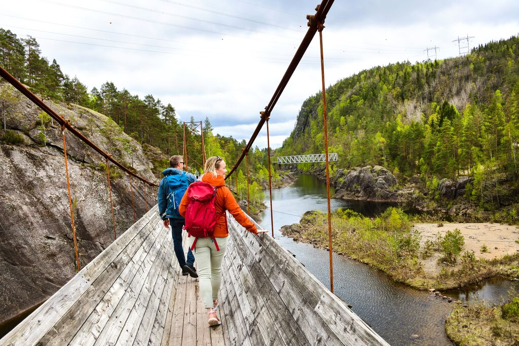 Elbilferie - opplev Tømmerrenna i Vennesla